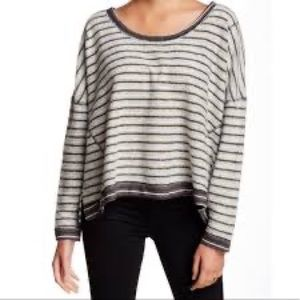 Free People • Dolman Inside Out Pullover Sweater